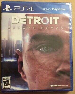 DETROIT Become Human (PS4 Sony Playstation 4) game BRAND NEW / SEALED