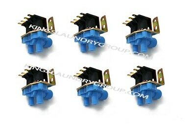6 Pcs  9379-183-001 2 WAY WATER VALVE 110V For DEXTER WASHER