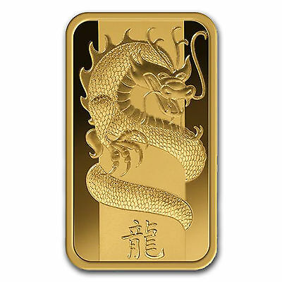 2012 ~ 5~GRAM ~ 9999 GOLD ~ YEAR of the DRAGON ~ PAMP SUISSE ~ SEALED ~ $9.99 NR