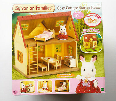 Sylvanian Families - Cosy Cottage Starter Home Set - New
