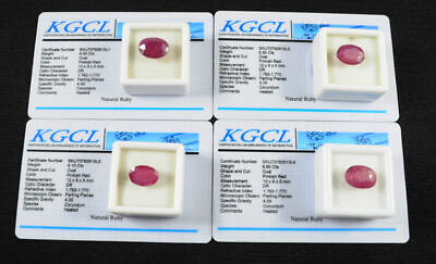 Top Gems 25.90 Cts Certified Natural Oval Faceted Ring Size Ruby from Mozambique