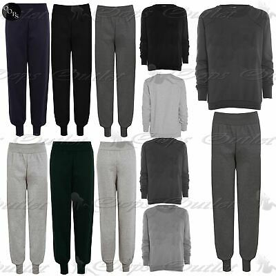 Ladies Womens Tracksuits Fleece Sweats Jog Tracks Jogger Bottoms Pants Plus Size