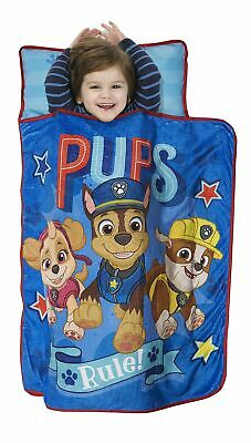 Paw Patrol Pups Rule Toddler Nap Mat Sleeping for Travel Day Care Kinder Garden