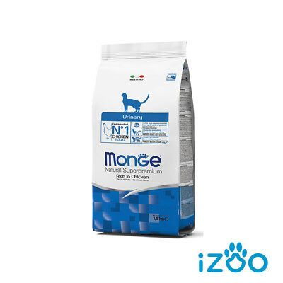 Monge Superpremium Cat Gatto Urinary 1,5 Kg - 3 Kg - 4,5 Kg Contro Calcoli Renal