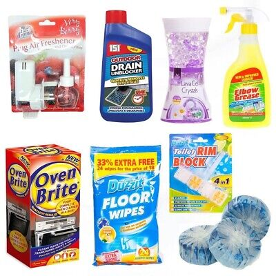 Household Bathroom Cleaning Wipes Liquids Cloths - Great for Surface Stains
