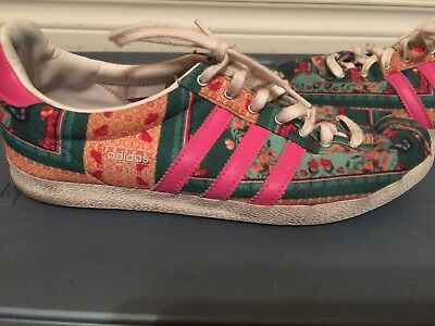 watch 1d069 a18e6 Adidas Originals Gazelle Shoes OG WC Farm Multicolor Womens Sz 7.5 Floral  D67720