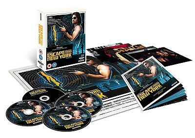 Escape From New York 4K Blu-Ray Studiocanal Limited Collector's Edition Uk