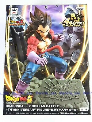 DragonBall Z Dokkan Battle 4th Anniversary Figure SS4 VEGETA BANPRESTO