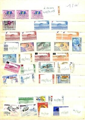[OP8215] Worldwide lot of stamps on 12 pages - see photos on description