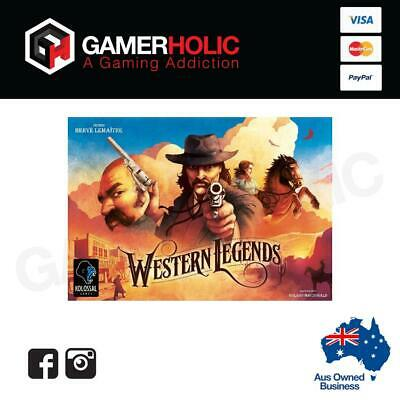Western Legends Board Game Card Game Brand New PREORDER