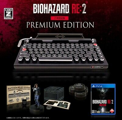 Resident Evil 2 RE2 Z ver Premium Edition Qwerkywriter S e-capcom Exclusive
