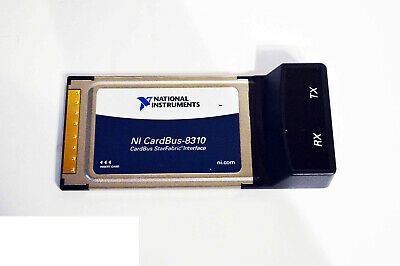 National Instruments NI PXI-CardBus8310 Laptop Cont. of pxi with PCMCIA CardBus