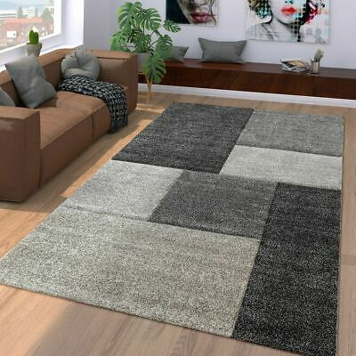 Outstanding Modern Rug Carpet Geometric Grey Living Room Carpets Small Large Checked Mats Download Free Architecture Designs Scobabritishbridgeorg