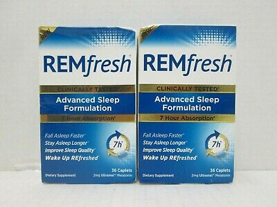 Remfresh Advanced Sleep Formulation 36 Caplets Read 12/2018