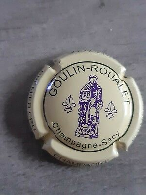 capsule champagne GOULIN ROUALET