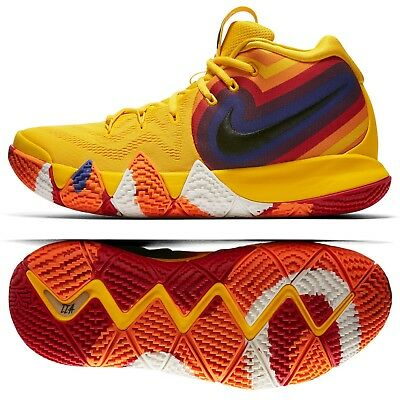 fe02cf63554 Nike Kyrie 4 Decades Pack 70s 943806-700 Amarillo/Black Men's Basketball  Shoes