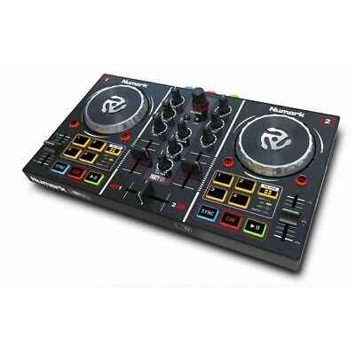 NUMARK PARTY MIX 2 Channel DJ Party Controller LED lights Virtual DJ EX-DISPLAY