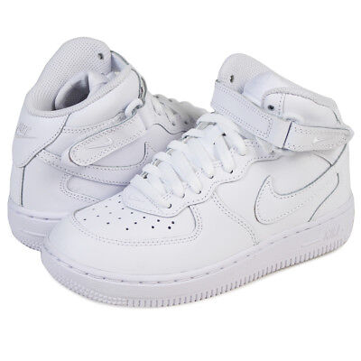 outlet store a714f 28032 Scarpe Bambini Nike Air Force 1 Mid (PS) 314196-113 Bianco Sneakers Alta