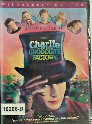 NEW *Sealed* DVD CHARLIE AND THE CHOCOLATE FACTORY - Johnny Depp