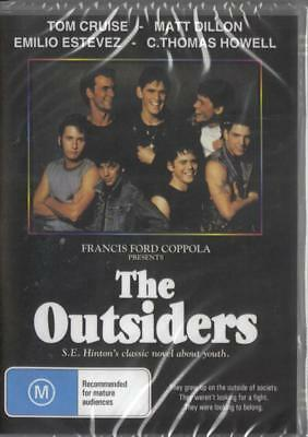 The Outsiders - Patrick Swayze - New & Sealed Dvd Free Local Post