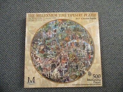 Puzzles 500 Teile The Millennium Time Tapestry Puzzle