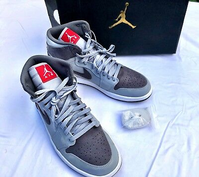 1d3435c08d06 Air Jordan 1 Retro High Premium Camo 3M Wolf Grey Men s 10 100% Authentic  StockX
