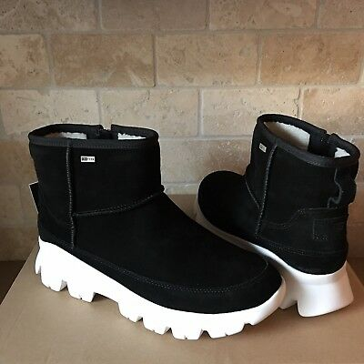 finest selection 8c5b4 b2a31 BLACK 9 Boots UGG Suede Waterproof Womens CAYDEN Size Us Nylon Snow gwOSfq5