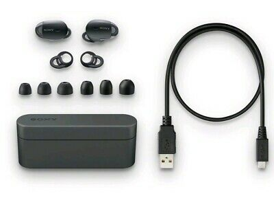 Sony WF-1000X/BM1 Bluetooth Wireless In-Ear, Noise-Canceling WF1000X (Black)