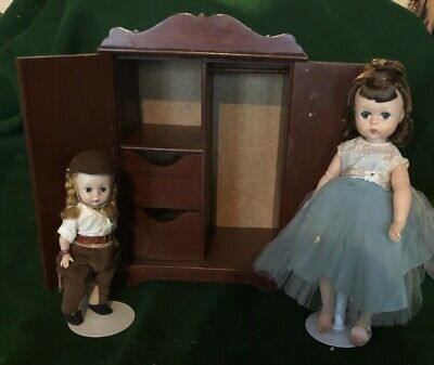 Doll Armoire Hall Lifetime Furniture Fits Alexander Wendy Cissette Lissy