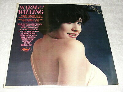 """Norrie Paramor """"Warm And Willing"""" 1960's LP, SEALED!, Mono, Capitol #T-2357"""