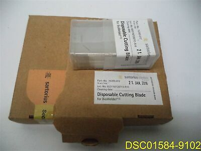 Pack of 50 Sartorius Stedim Disposable Cutting Blades for BioWelder TC 16389-012