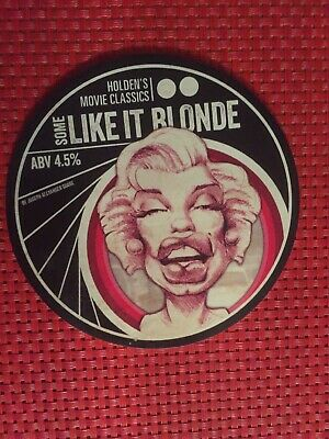 Holdens Movie Classics-some Like It Blonde-Beer Pump Clip (front)