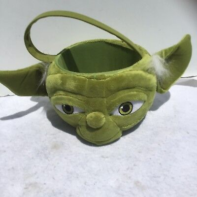 Yoda Plush Halloween Basket Star Wars 24 Disney Nwt H52 Easter