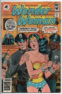 DC Comics Wonder Woman #260 $40c cover priced Whitman Variant VF- 1979