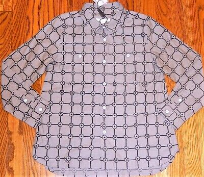 BURBERRY ORIGINAL TODDLERS KIDS BOYS BRAND NEW AUTHENTIC DRESS SHIRT Size 3Y NWT