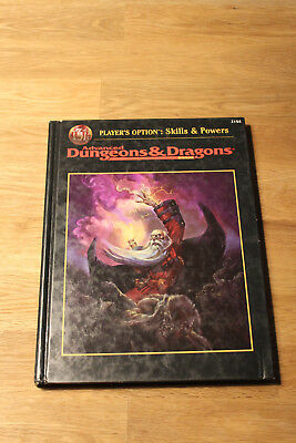 Player's Option - Skills & Powers (AD&D 2nd edition)