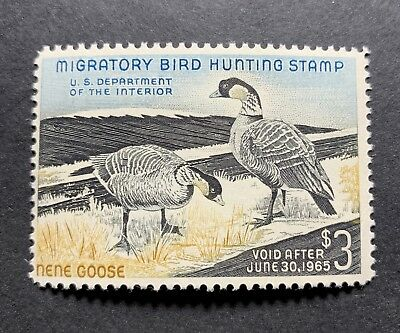 WTDstamps - #RW31 1964 - US Federal Duck Stamp - Mint OG NH
