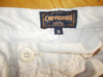 NEW Chevignon Men's Jeans Beige - 100% COTTON Size 48 Tailored front
