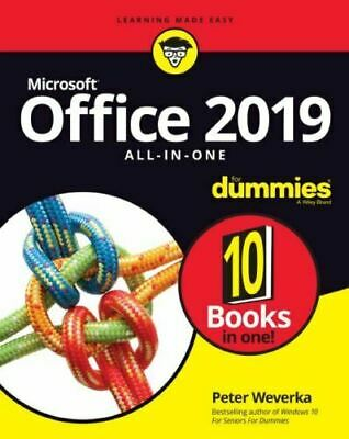 Office 2019 All-in-One For Dummies by Peter Weverka (10 PDF eBooks)