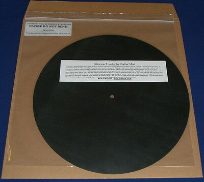Srm Tech Silicone Turntable Platter Mat