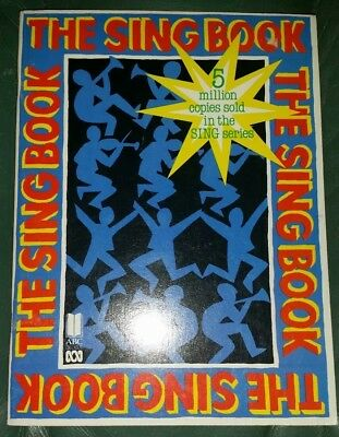 ABC THE SING BOOK 1990  80 page Sheet Music Book