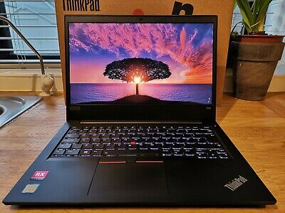 LENOVO THINKPAD E480 Laptop, Intel Core i7-8550U 1 8GHz, 8GB