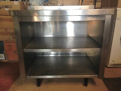 Commercial Stainless Steel Unit with Shelves