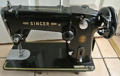 Black Singer 306K Zig Zag Semi Industrial Heavy Duty Machine,