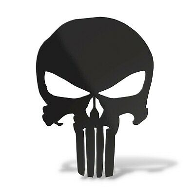 Sticker PUNISHER Adesivo Murale Decal Laptop Auto Moto Casco Scooter Teschio PVC