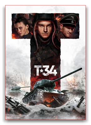 T - 34 Tank T-34 New Russian Wwii Movie Dvd English Subtitles New Release