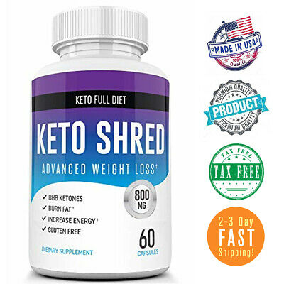 Keto Slim Ultra Shred Diet Pills from Shark Tank Advanced Weight Loss Fat Burner