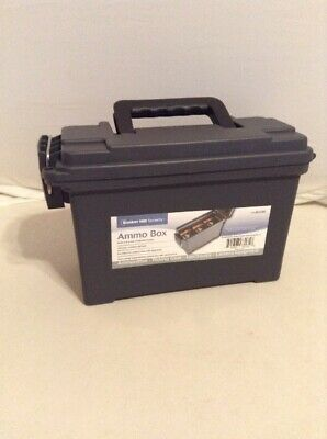 Bunker Hill Security Ammo Box 9.25X7X4 Holds 6-8 Boxes of Standard Ammo #63135