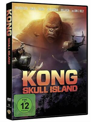 Kong Skull Island - Hiddleston, Jackson, Vogt-Roberts | DVD | Neu New