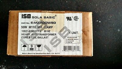 Lot of 3 ISB SOLA BASIC CORE & COIL Metal halide ballasts FREE SHIPPING!